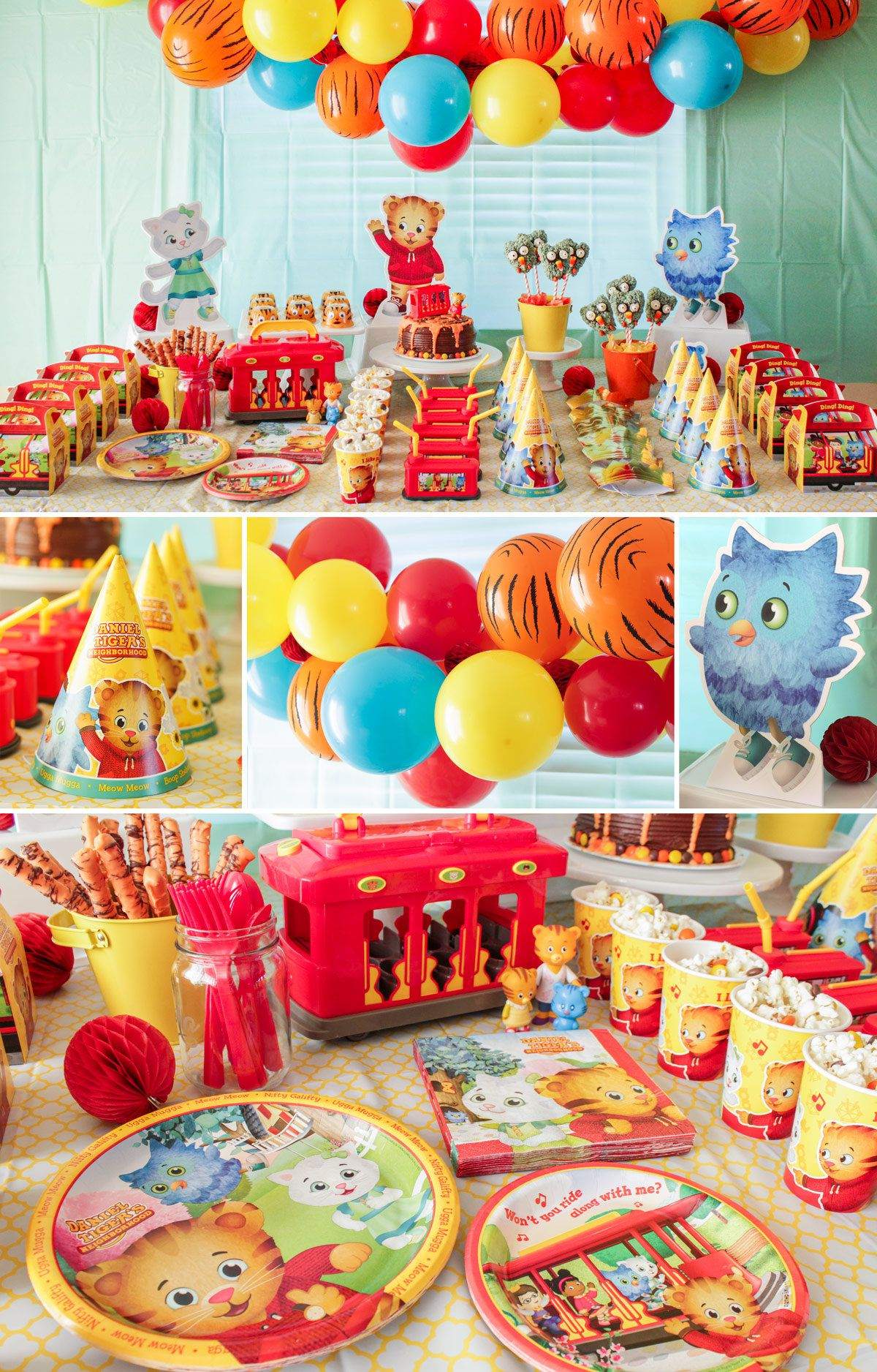 Daniel Tiger Decorations