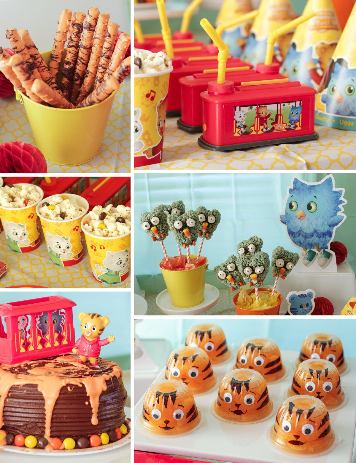 Daniel Tiger Party Foods