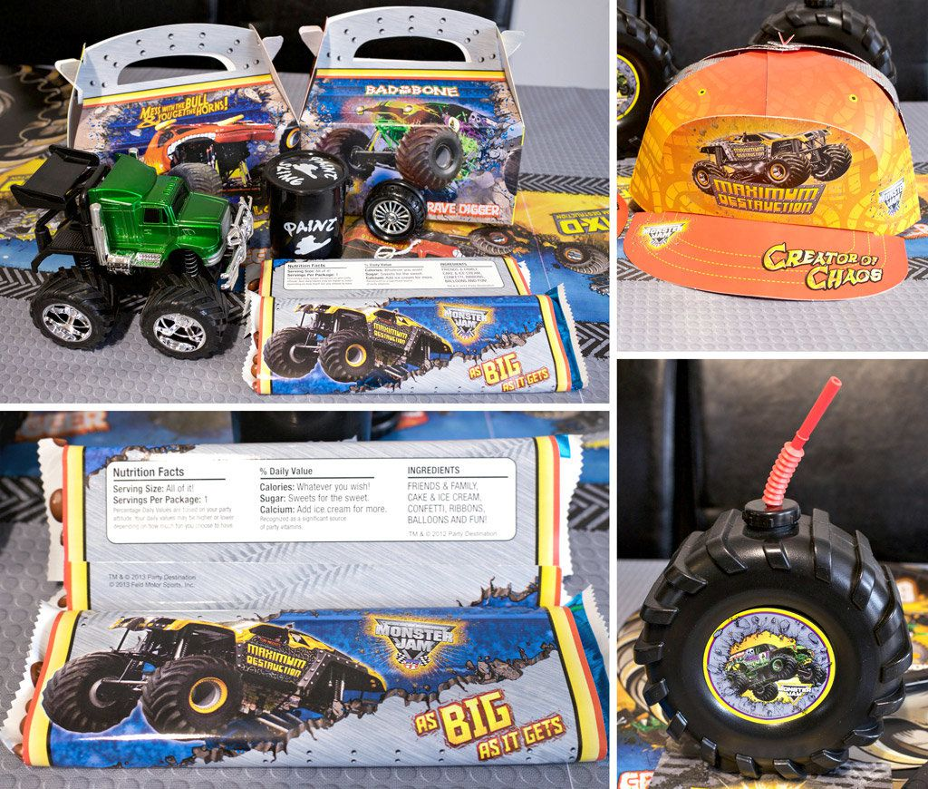Monster Truck Favor Ideas