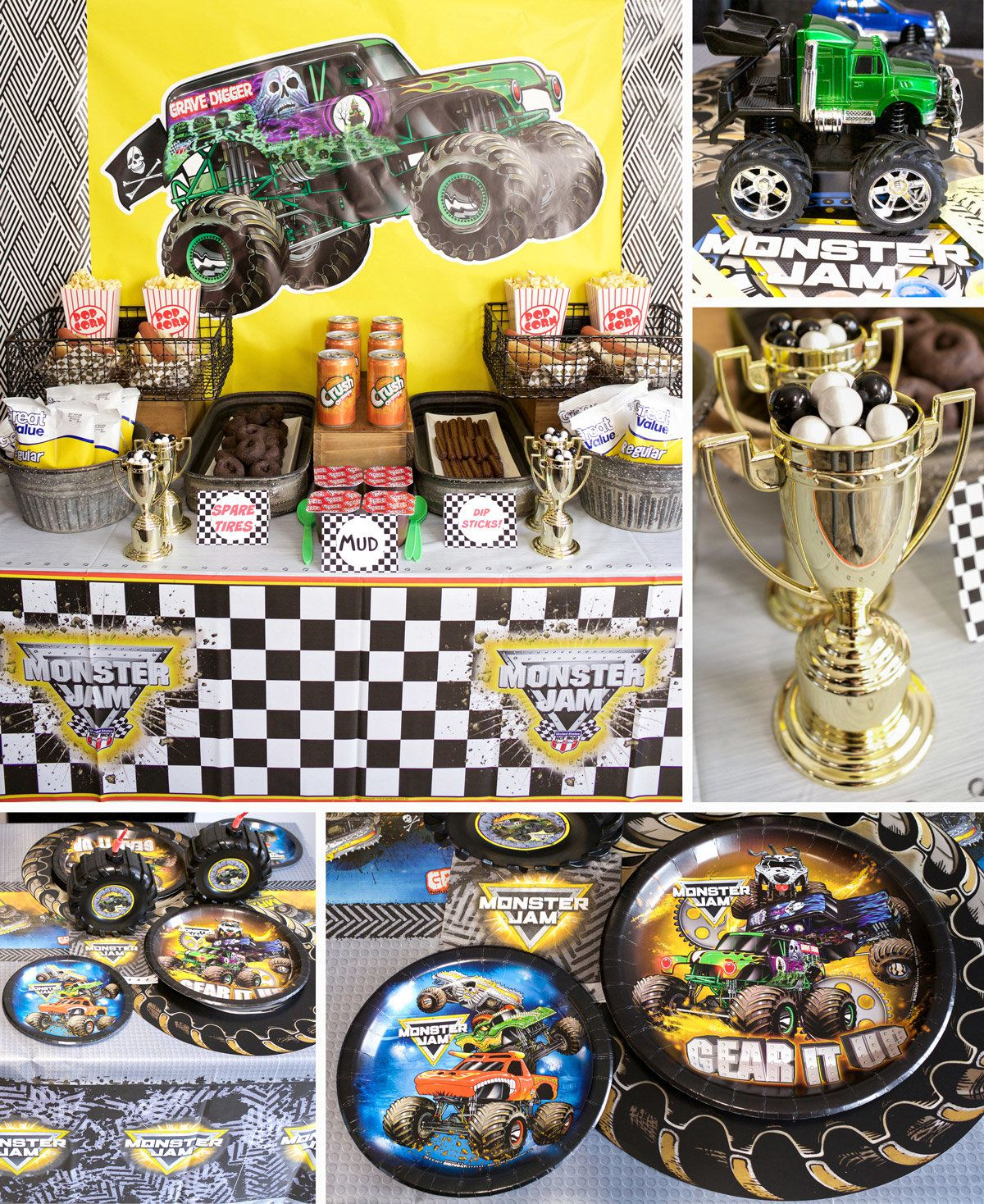 Monster Truck Decoration Ideas