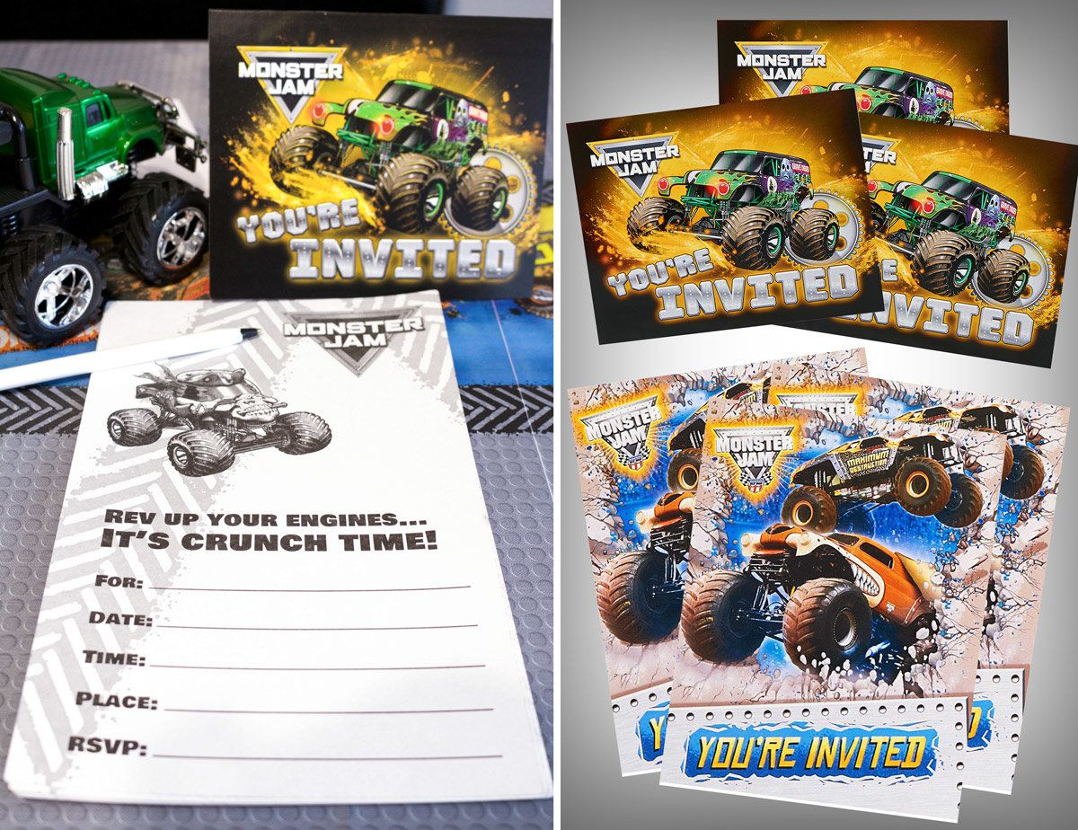 Monster Truck Party Ideas | Monster Truck Party at Birthday in a Box