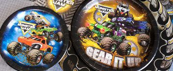 Monster Truck Tableware