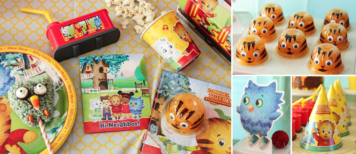 Daniel Tiger Birthday Party Ideas