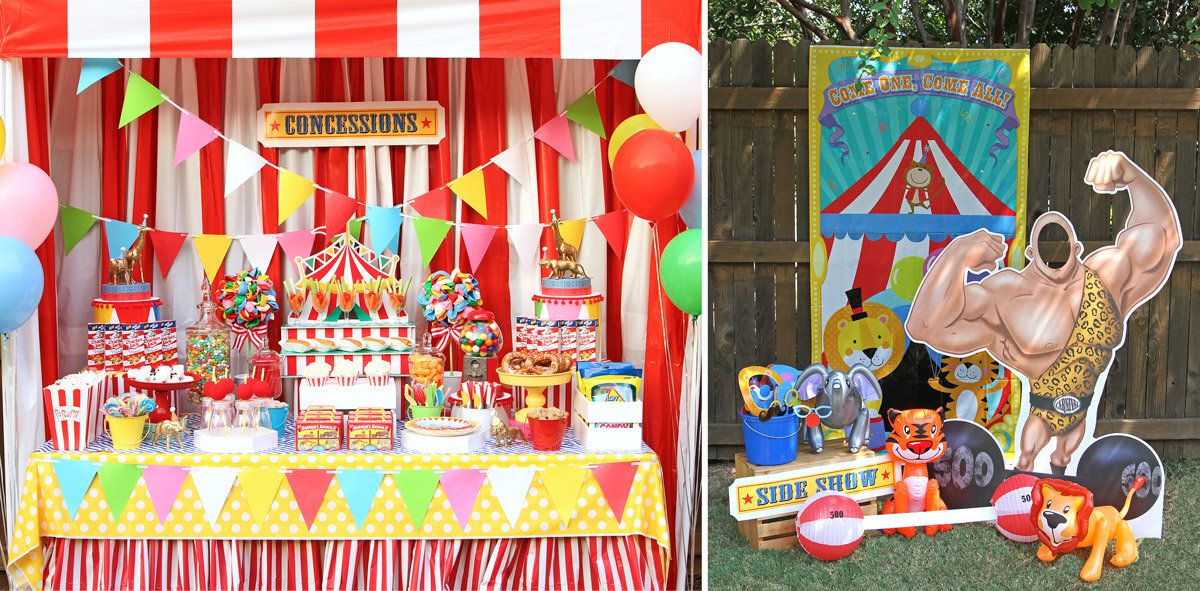 Circus Party Supplies for Birthdays  Birthday in a Box