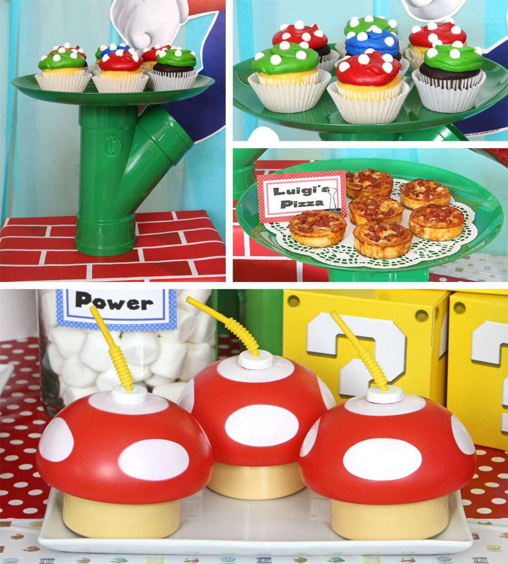 Super Mario Bros Party Ideas