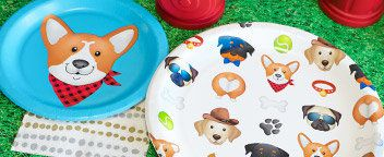 Puppy Pawty Tableware