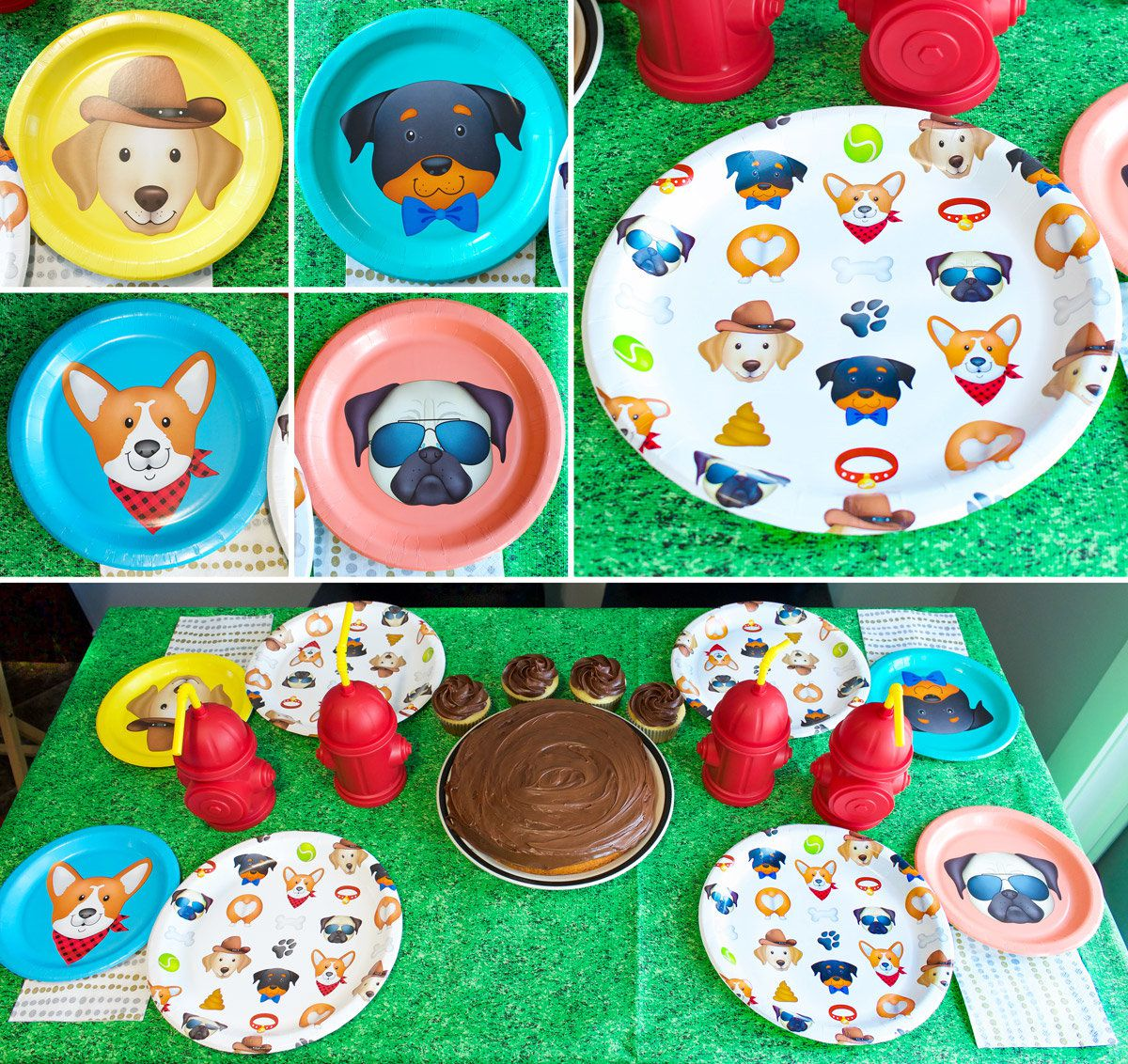 Puppy Party Tableware
