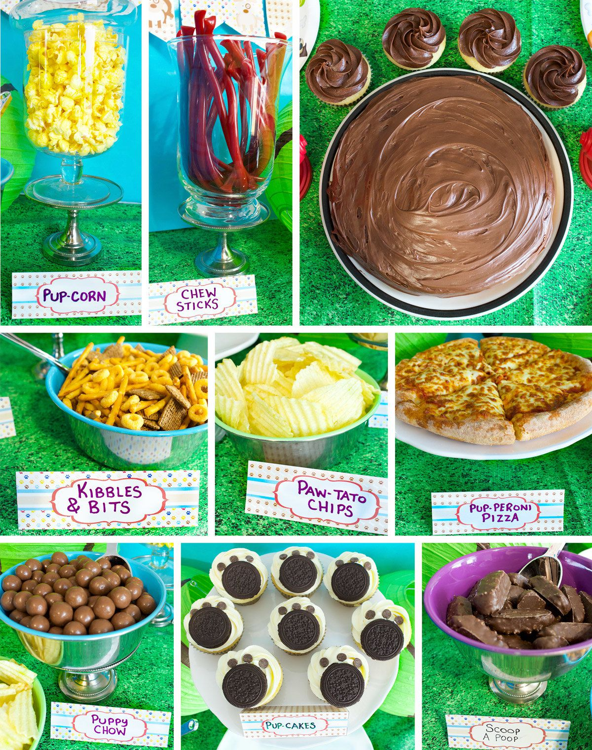 Puppy Party Food Ideas