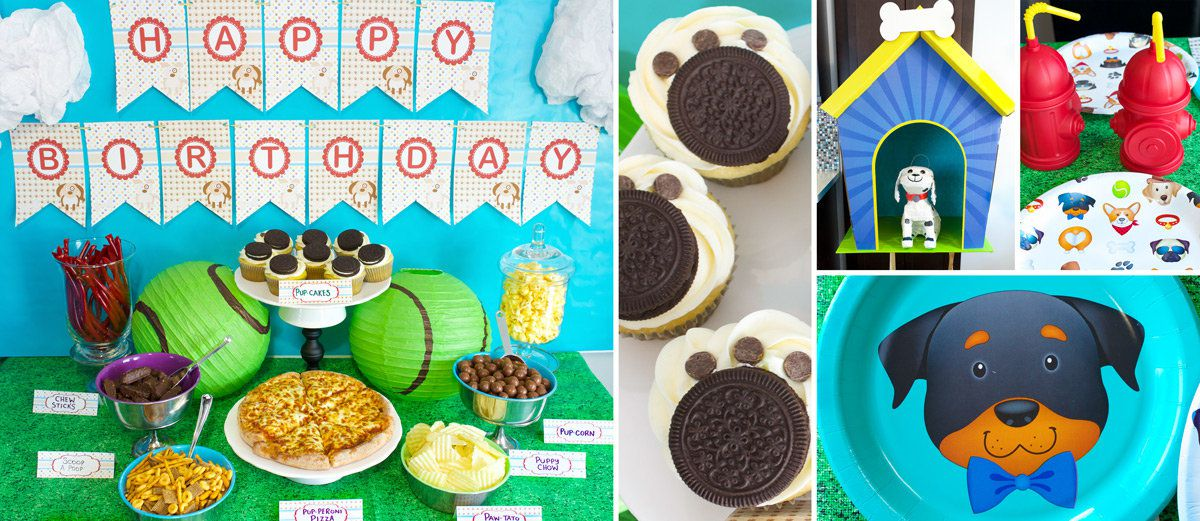 Puppy Party Birthday Ideas