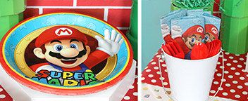 Super Mario Bros Tableware