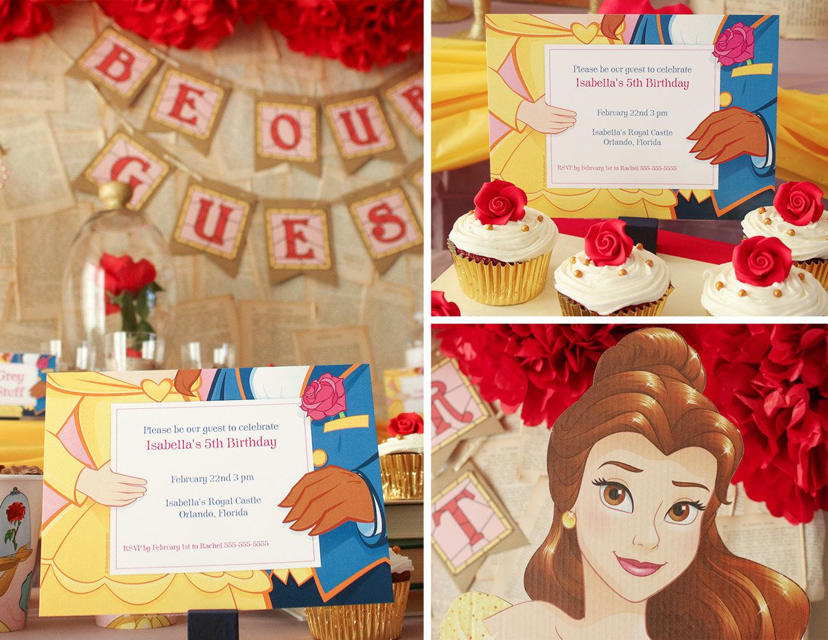 Princess Belle Party Ideas | Disney Party Ideas at Birthday in a Box