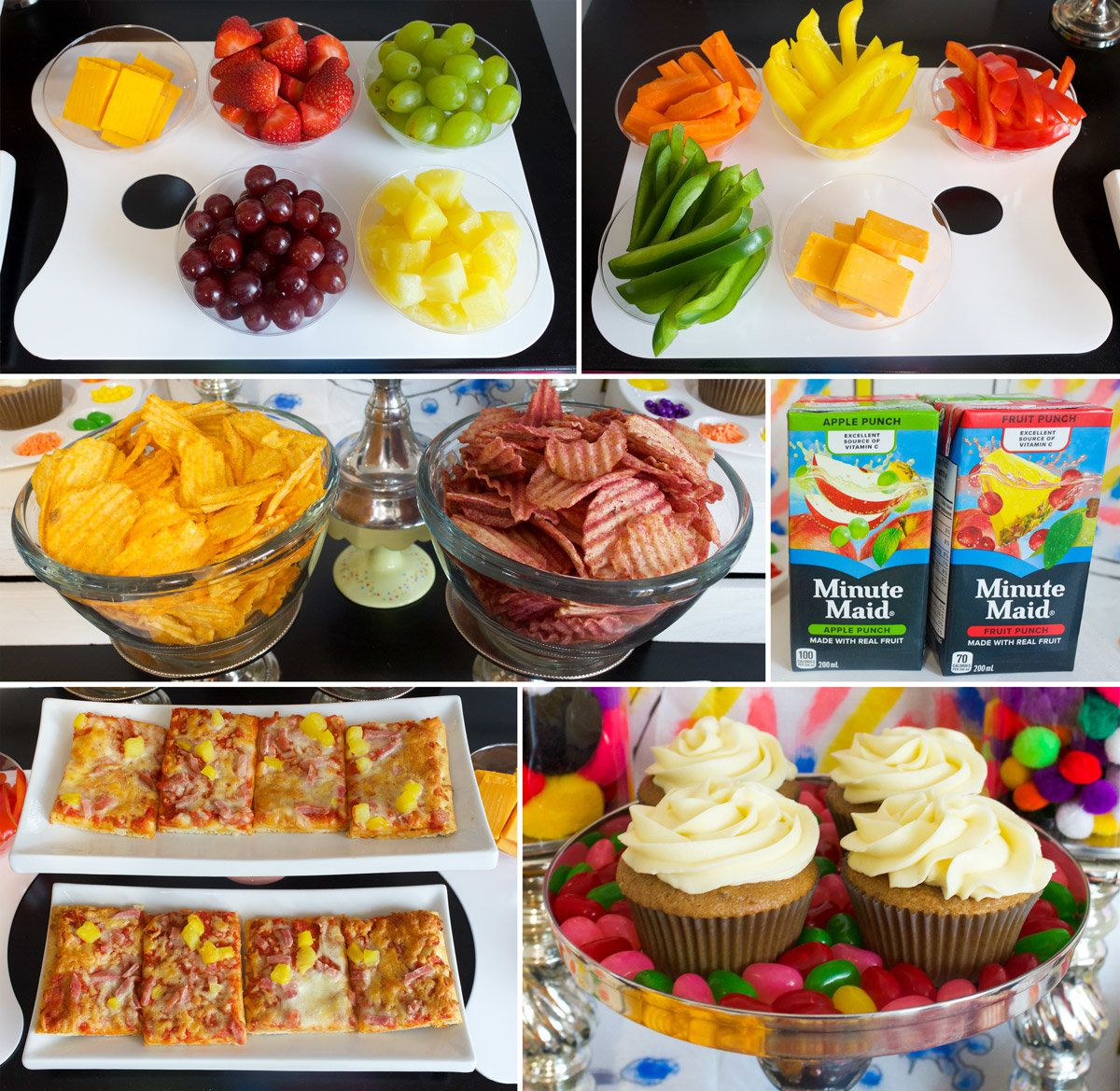 Arts and Crafts Party Foods