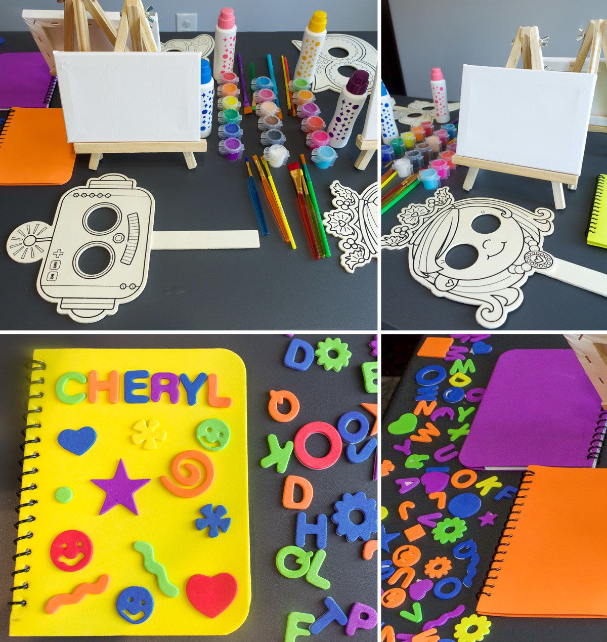 Arts & Crafts Party Ideas