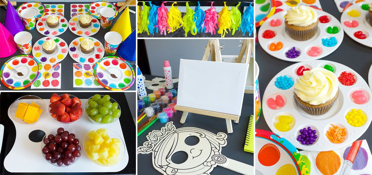 Arts and Crafts Party Ideas