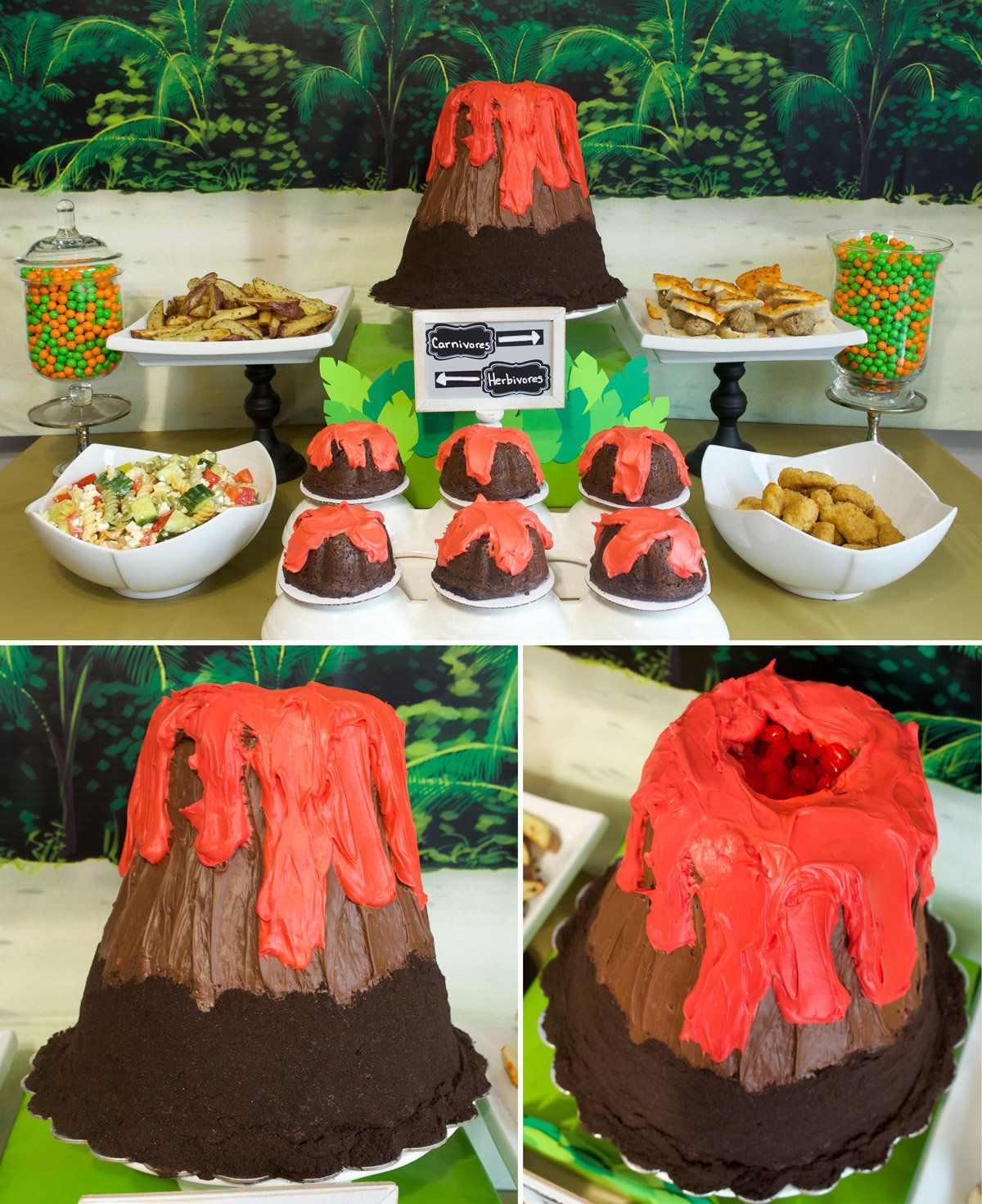 Dinosaur Birthday Party Ideas - Dessert