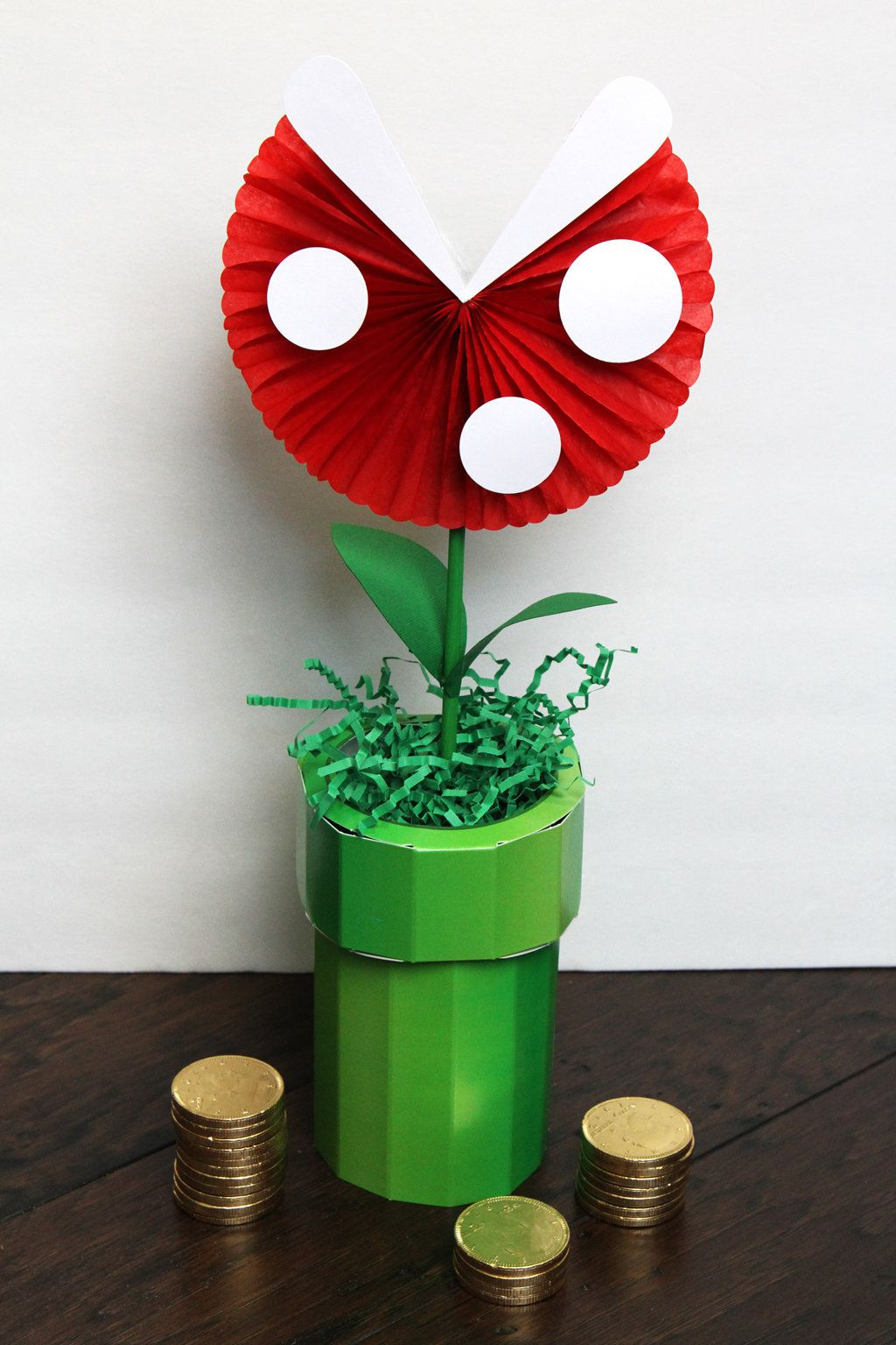 DIY Piranha Plant Decoration