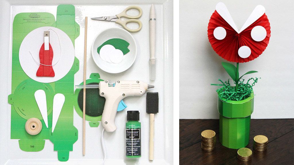 DIY Piranha Plant DIY