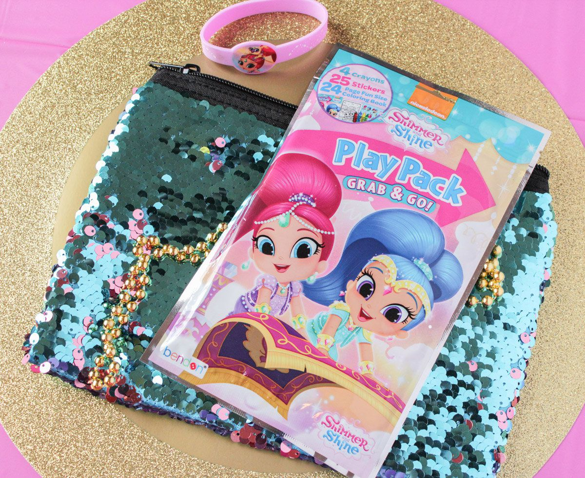 Shimmer and shine party for Shimmer and shine craft ideas