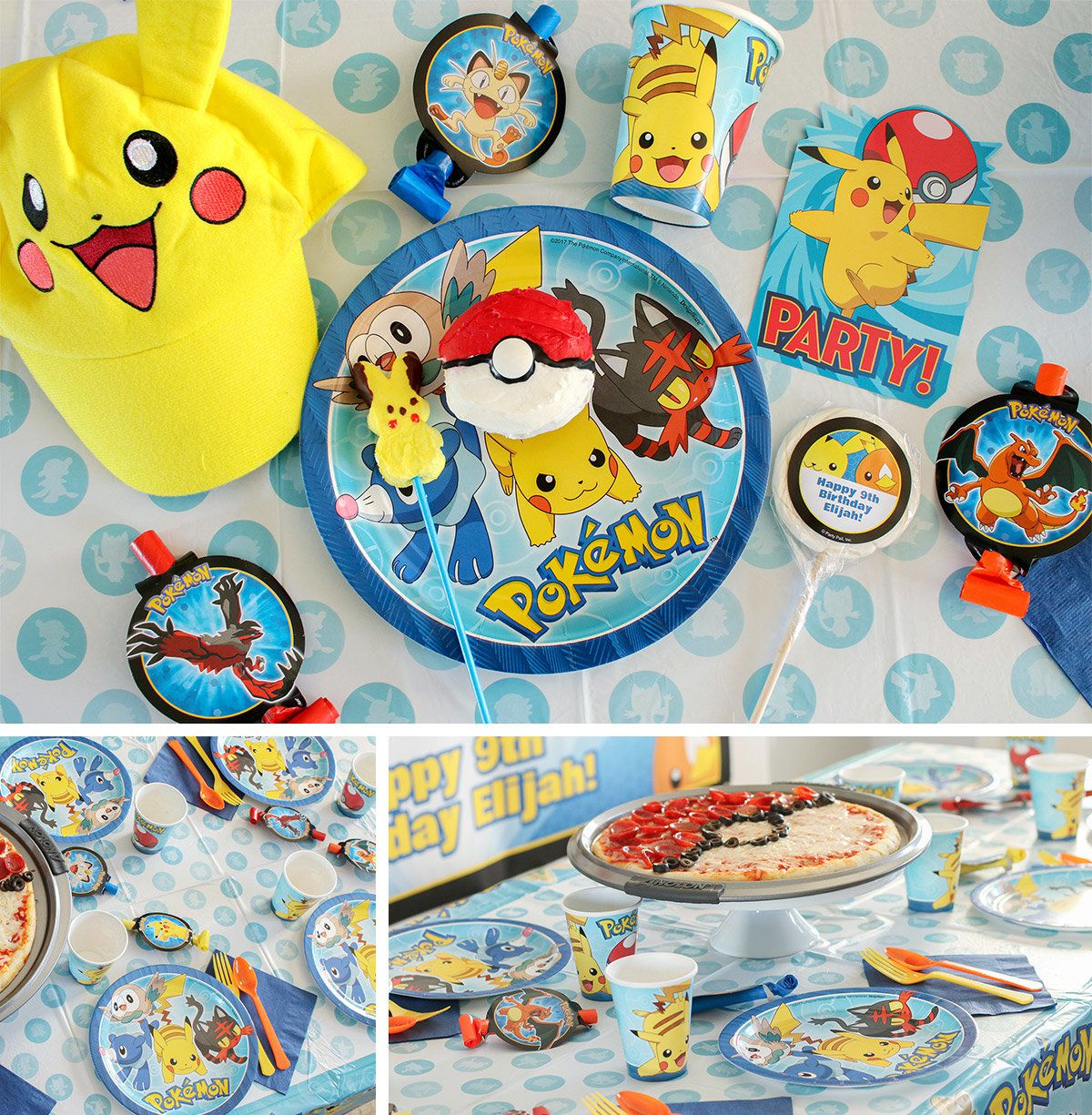 Pokemon Party Ideas - Decorations