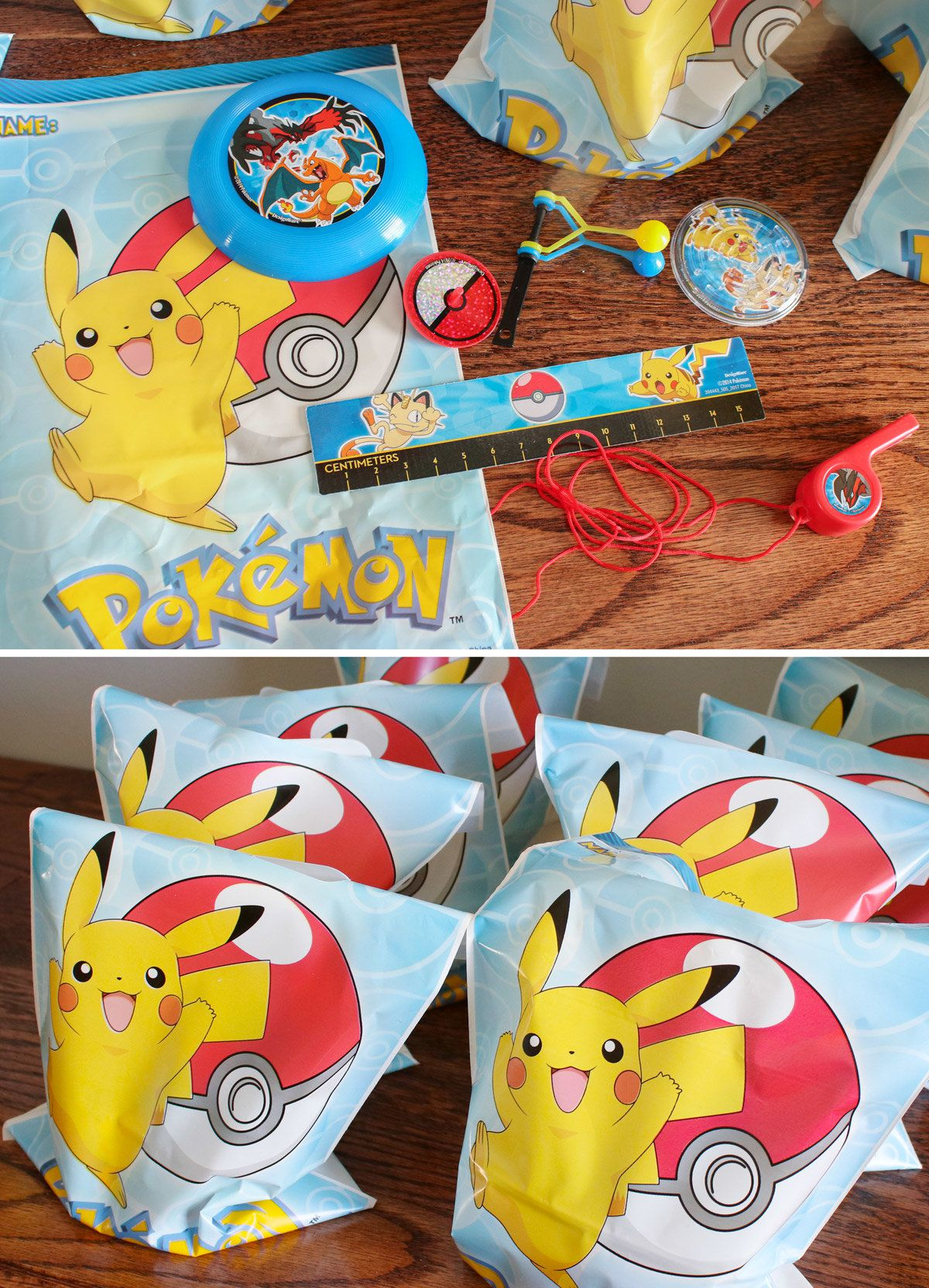 Pokemon Party Ideas - Favors
