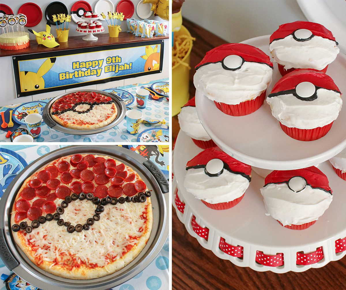 Pokemon Party Ideas - Foods