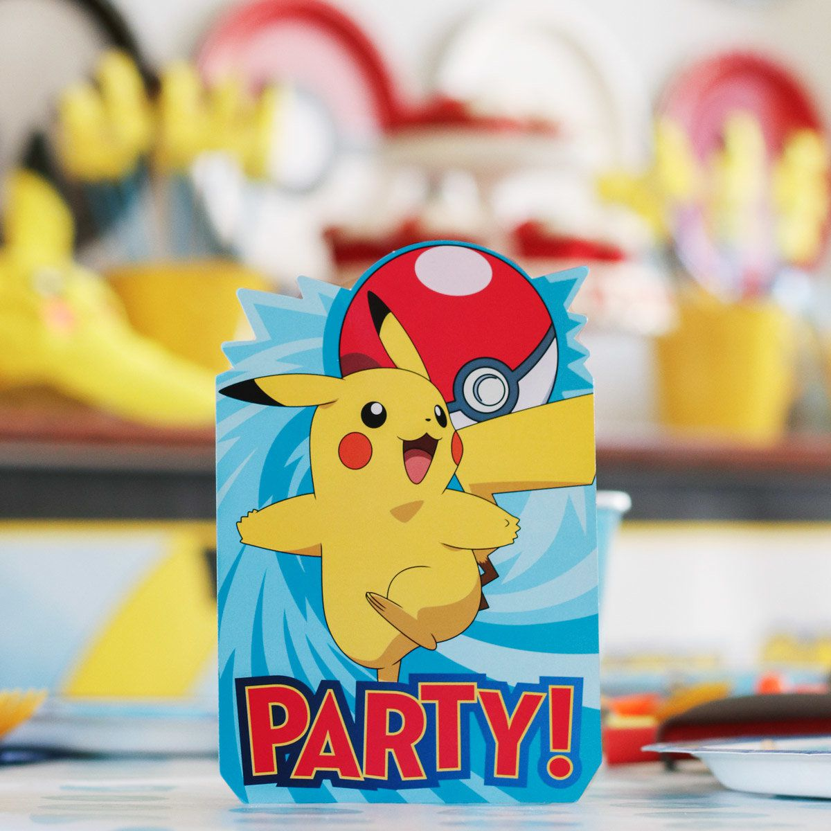 Pokemon Party Ideas - Invitation