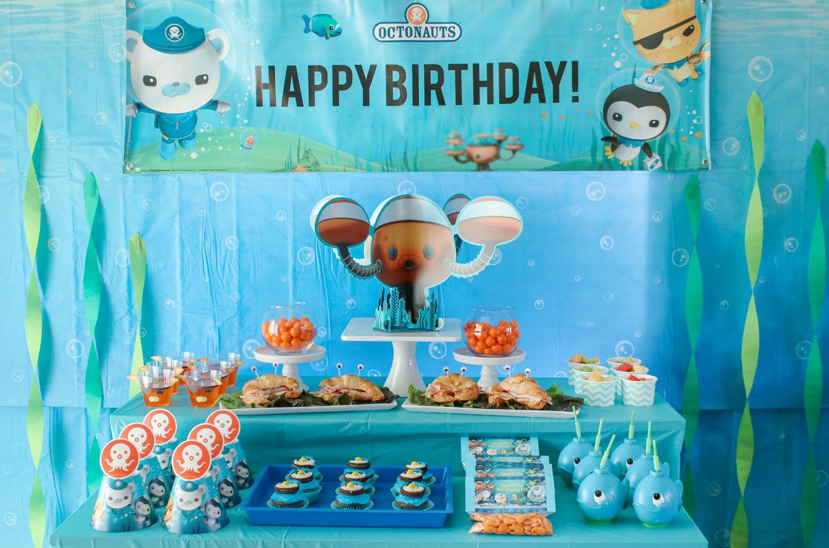 Octonauts Party Ideas Kids Party Ideas At Birthday In A Box