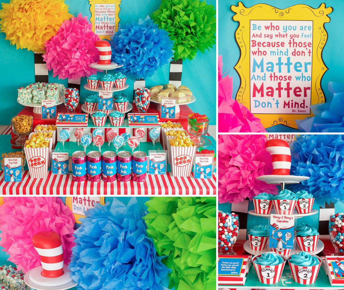 Dr Seuss Party Ideas Kids Party Ideas At Birthday In A Box