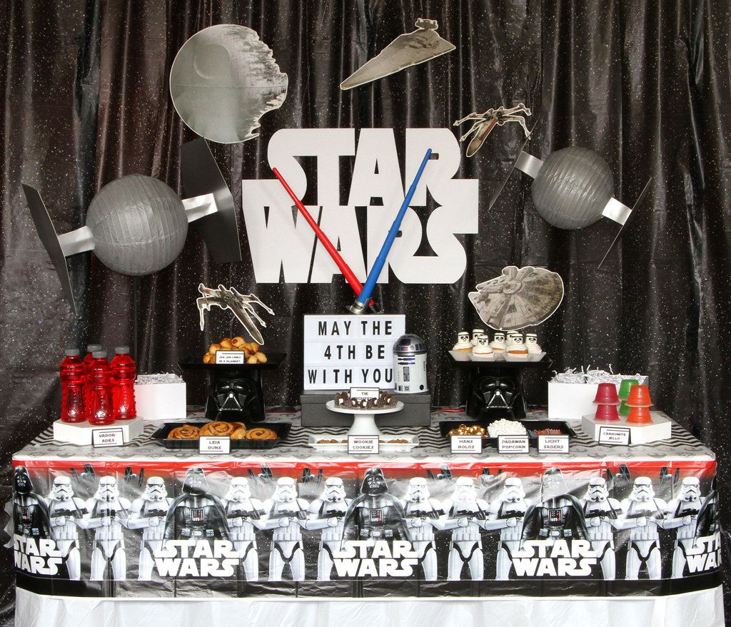 Star Wars Party - Decorations