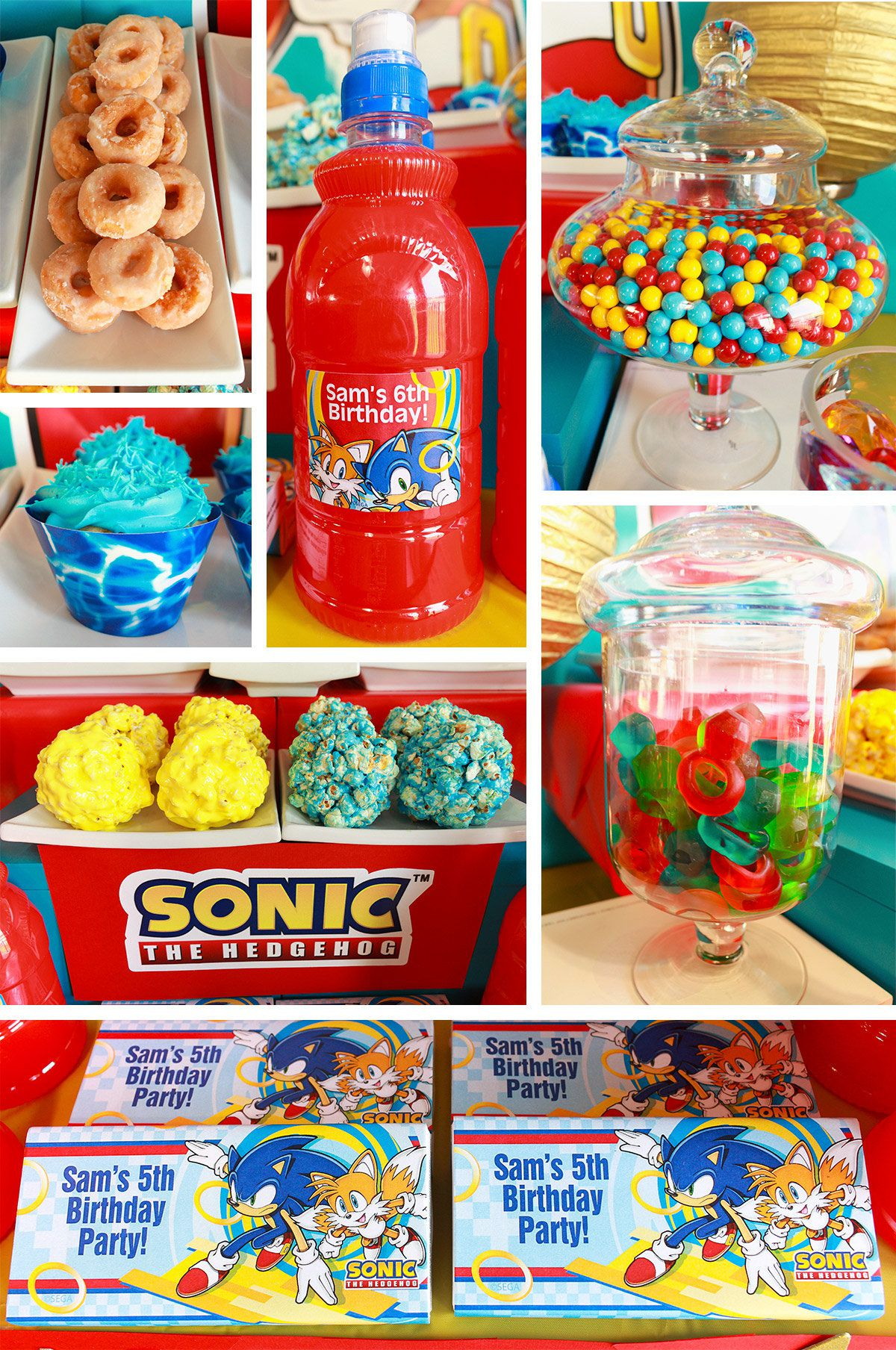 Sonic the Hedgehog Party - Food Ideas