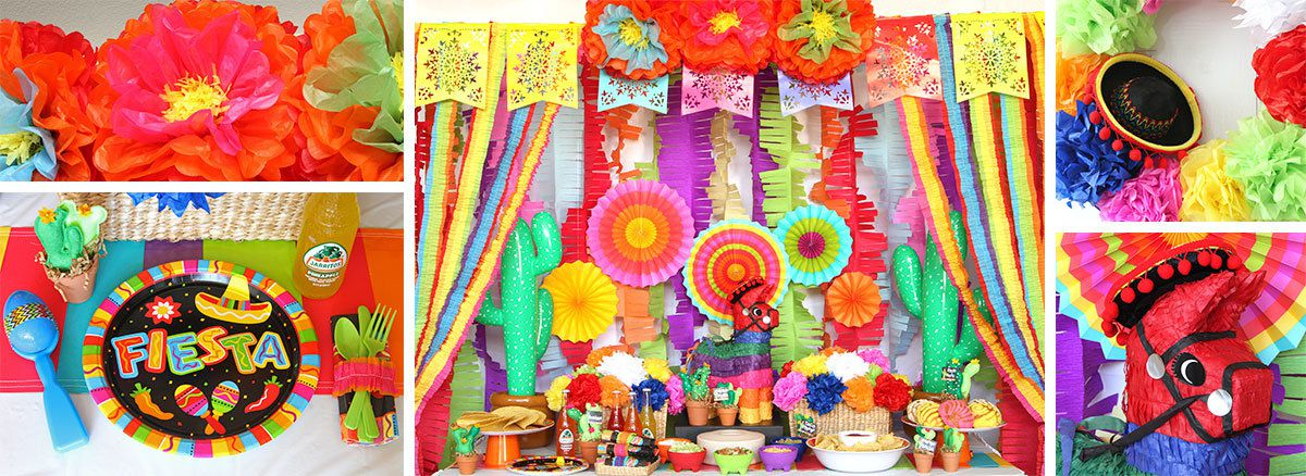 Cinco de Mayo Fiesta Ideas - Decorations