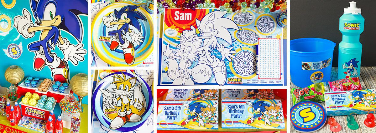 Sonic the Hedgehog Party