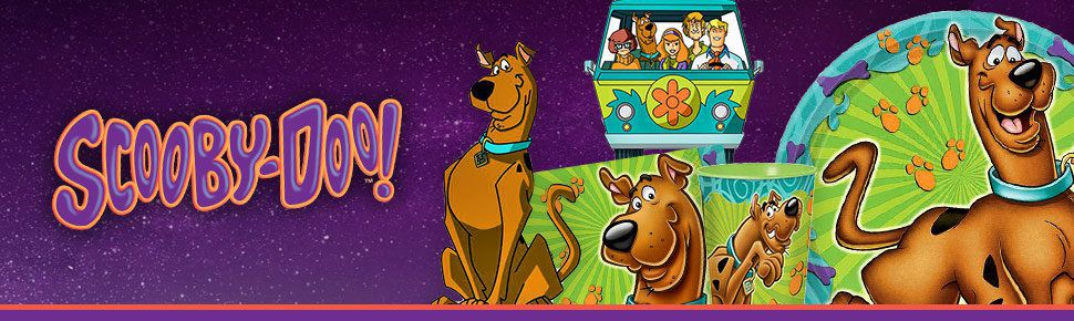 Scooby-Doo Party Supplies,Tableware /& Decorations