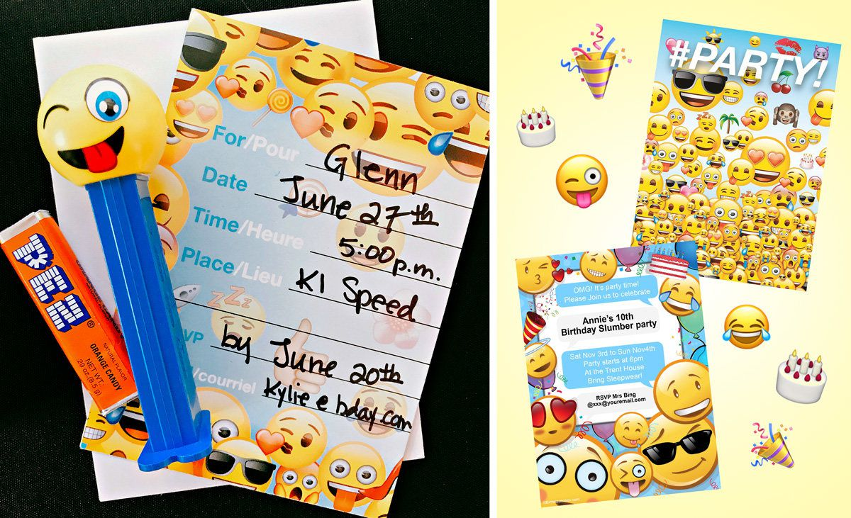 Pokemon Party Ideas - Invitations