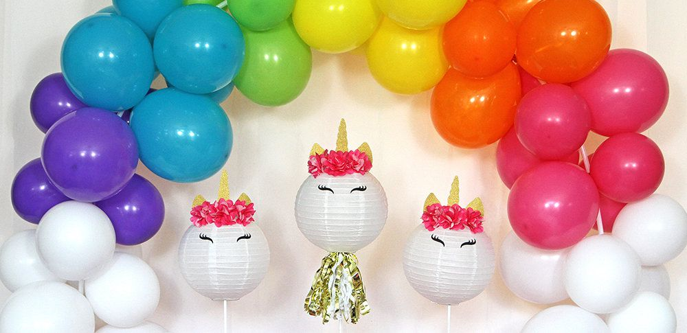 Unicorn Rainbow Party Ideas Birthday In A Box