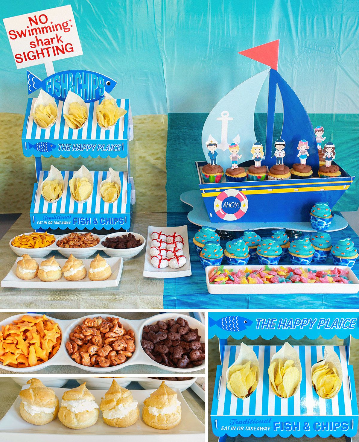 Ocean Party Ideas At Birthday In A Box