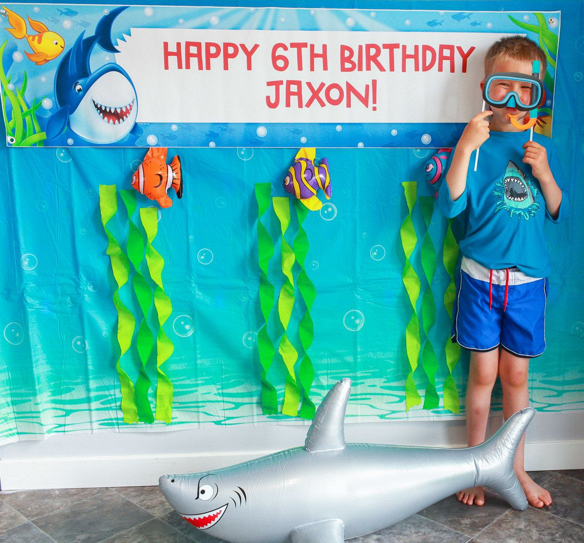 Shark Party Ideas