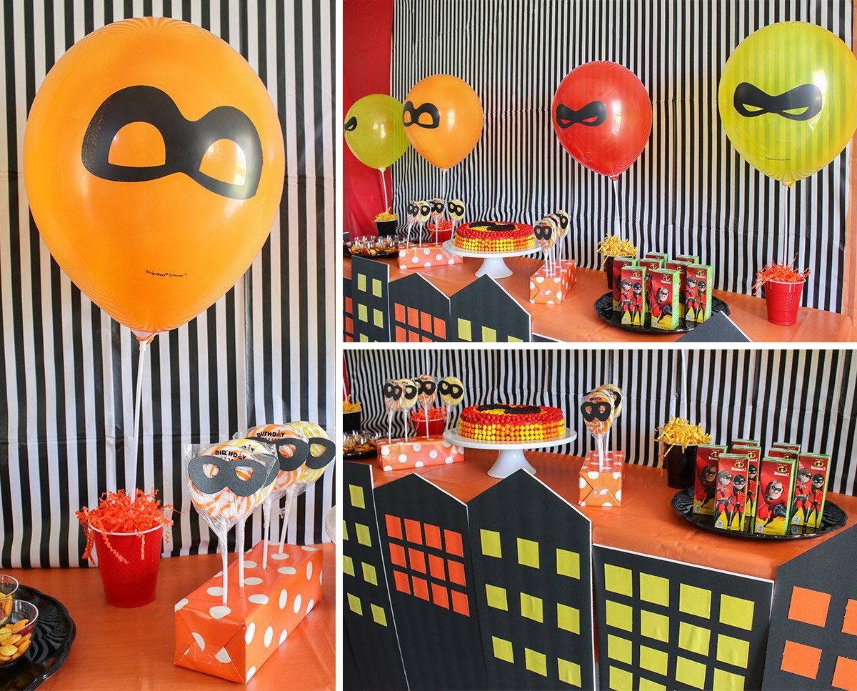 The Incredibles Party Ideas