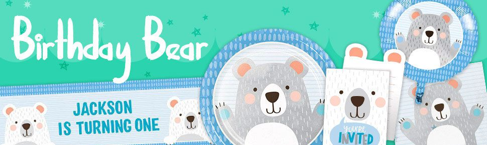 Birthday Bear header