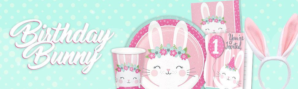 Birthday Bunny Header