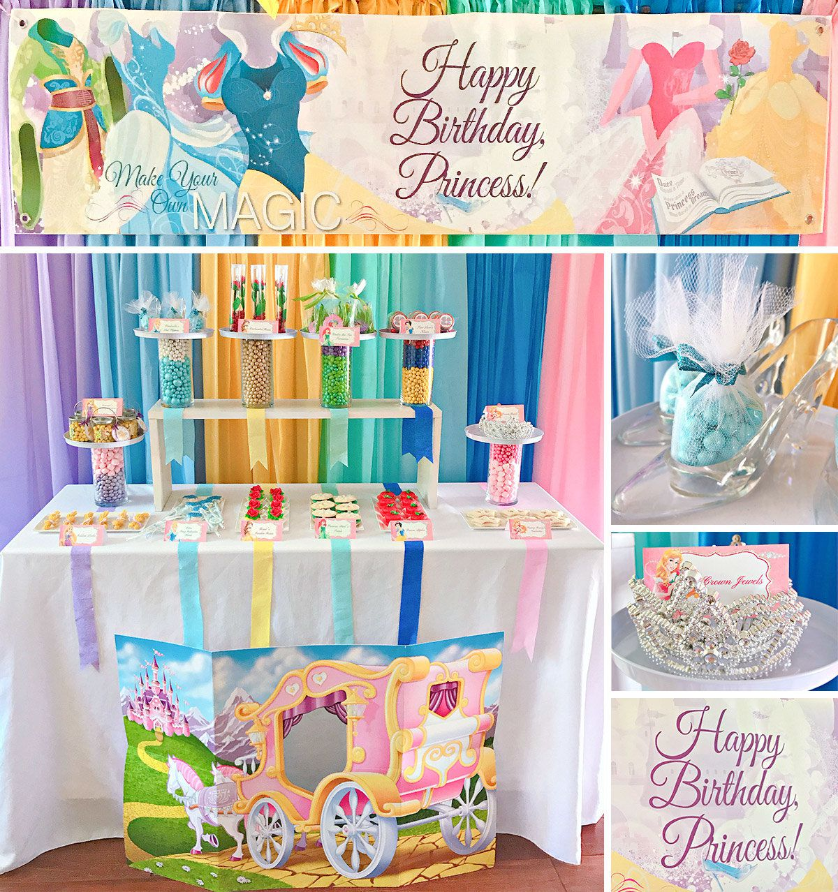 disney princess party ideas birthday in a box