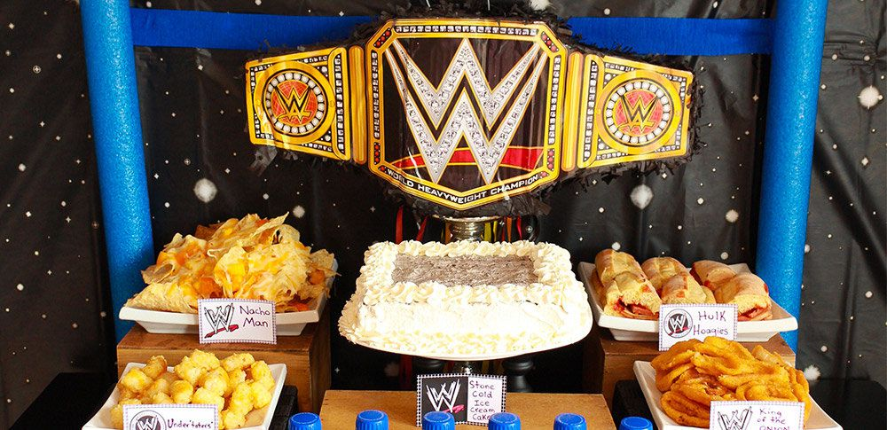 Wwe Wrestling Party Ideas Wrestling Party Ideas At