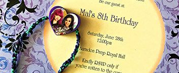 Descendants Birthday Party Ideas