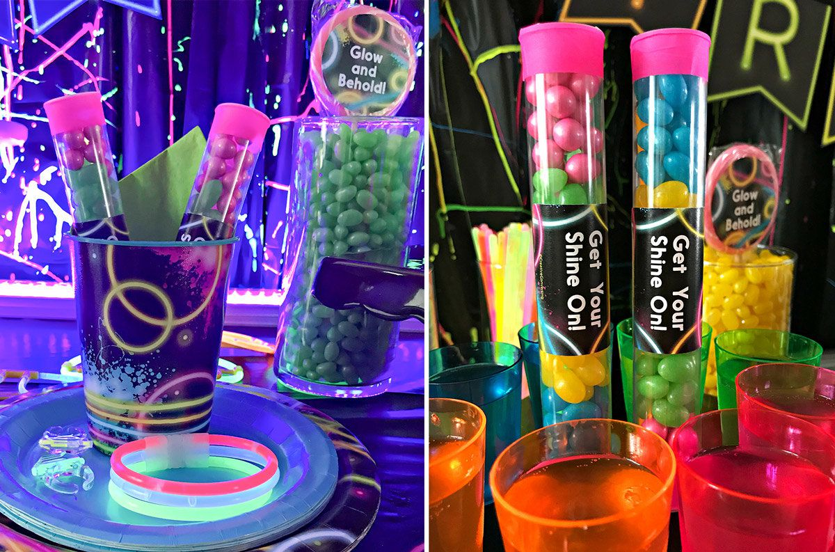 Glow In The Dark Party Ideas Kids