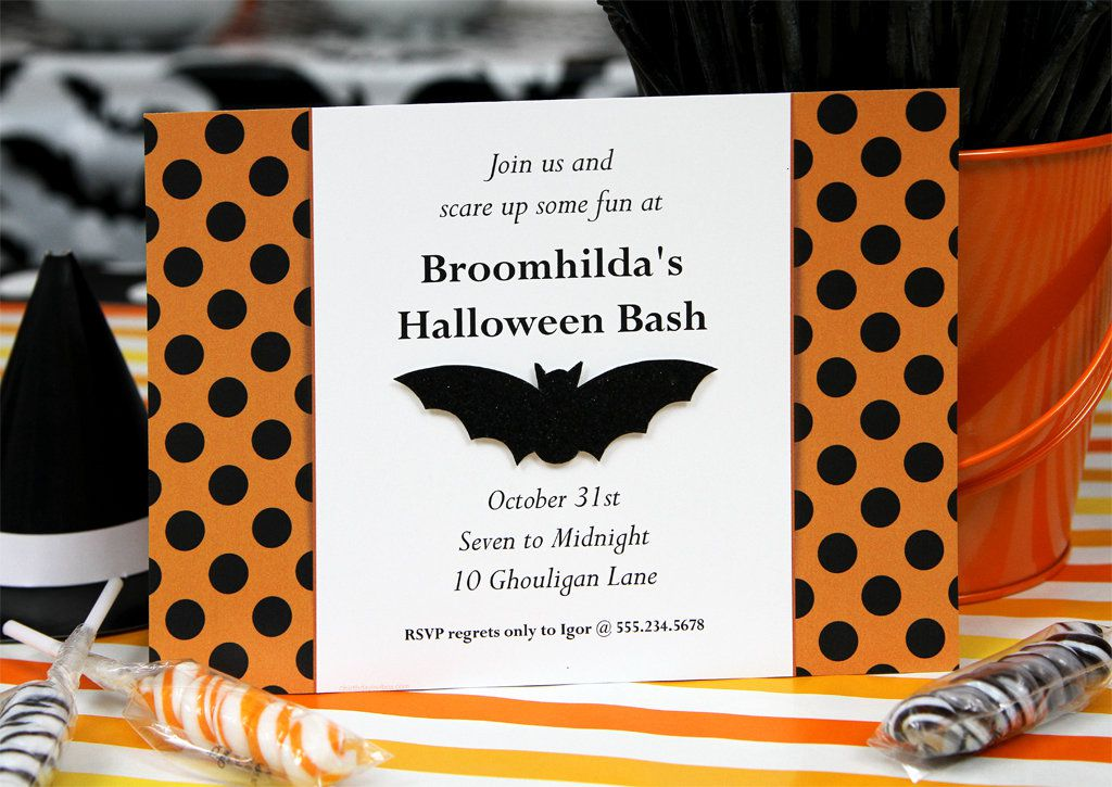 Halloween Party Ideas Invitation