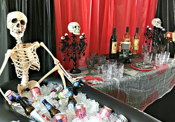 Adult Halloween party supplies