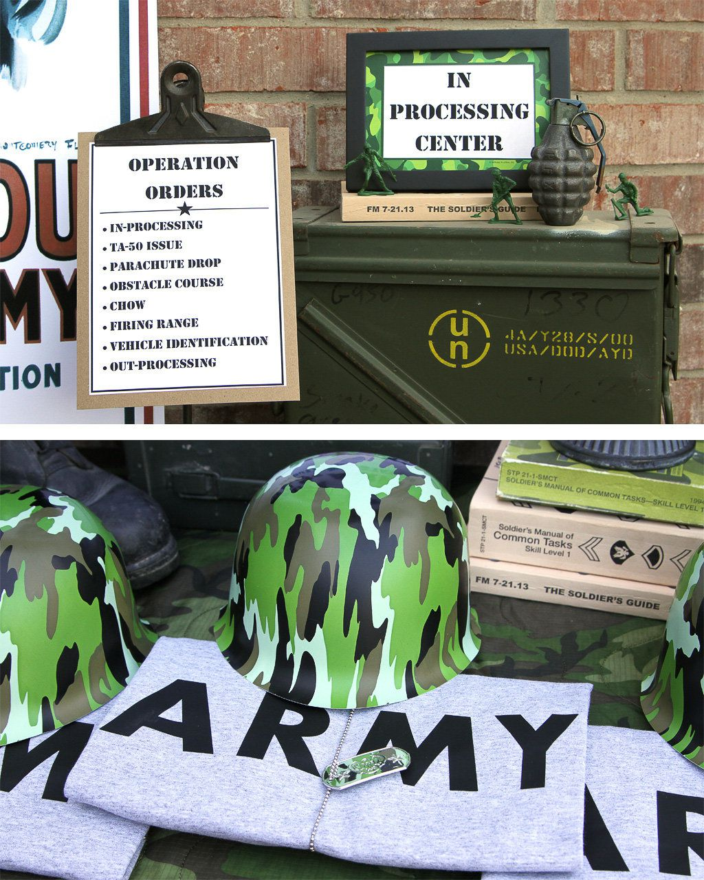 Army Party Ideas | Soldier Party Ideas at Birthday in a Box