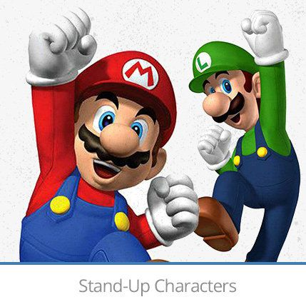 Stand up characters