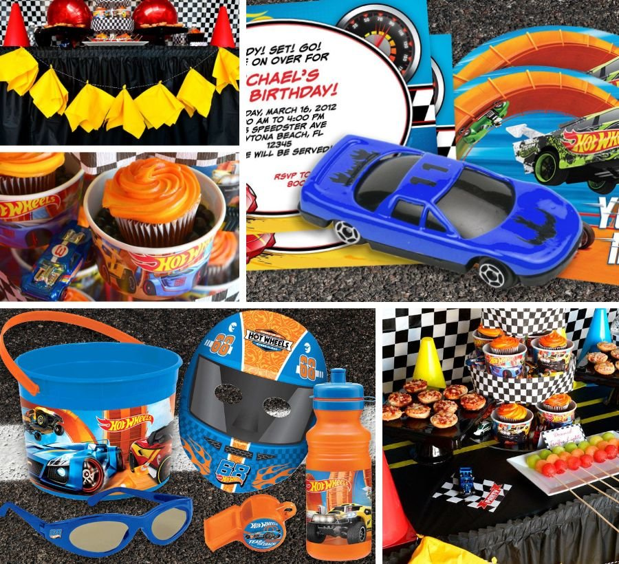 Hot Wheels Party Ideas Hot Wheels Kids Party Supplies For Boys
