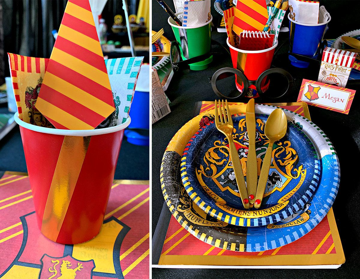 Harry Potter Party - Tableware